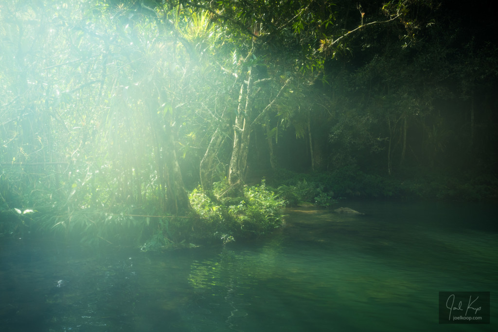 Guanayara Cuba Pool in the Rainforest