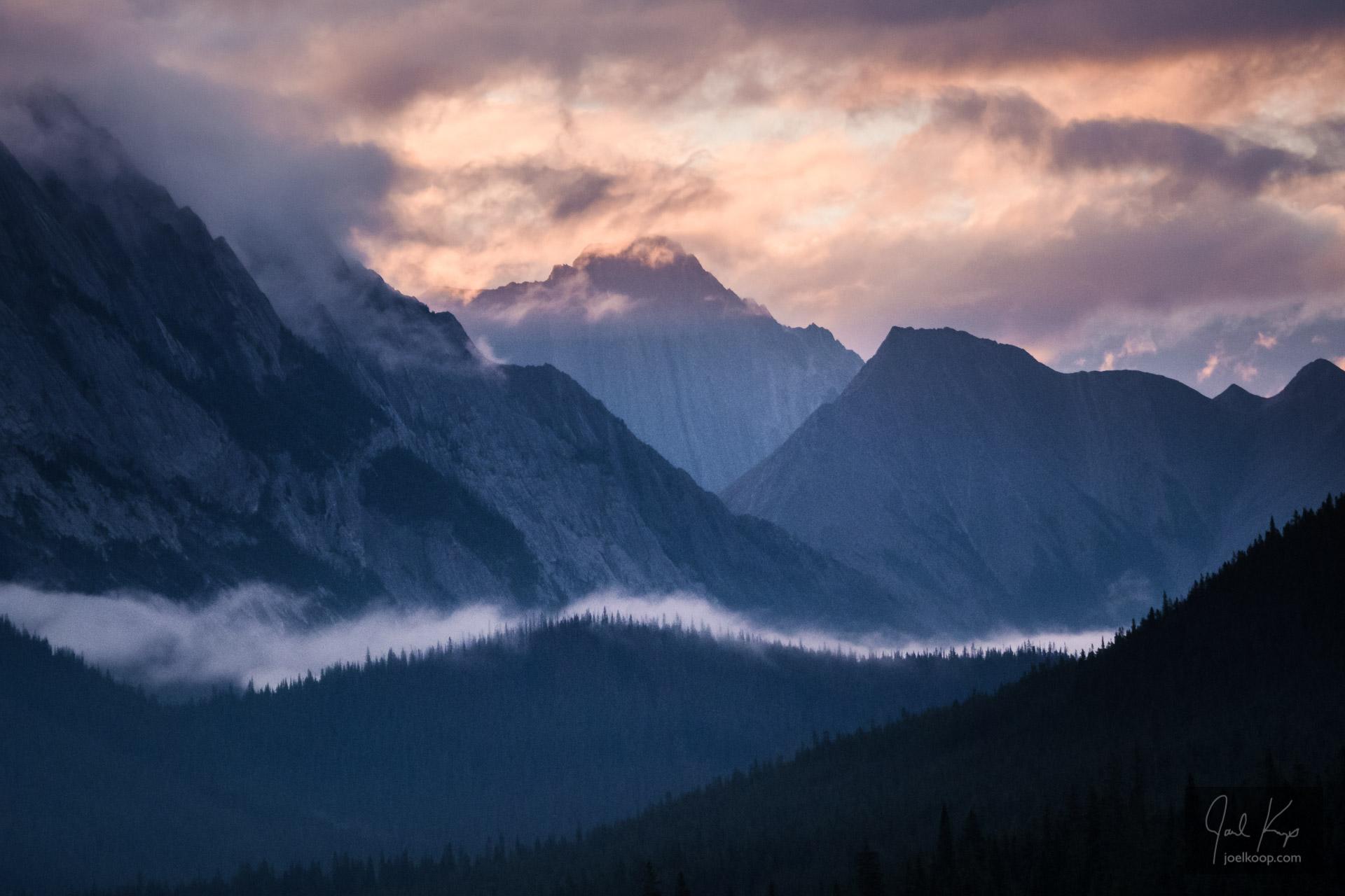 Morning Fog Over Medicine Lake