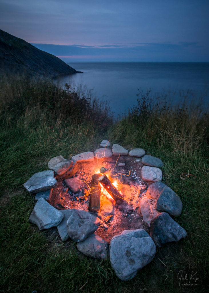 Campfire by the Endless Ocean