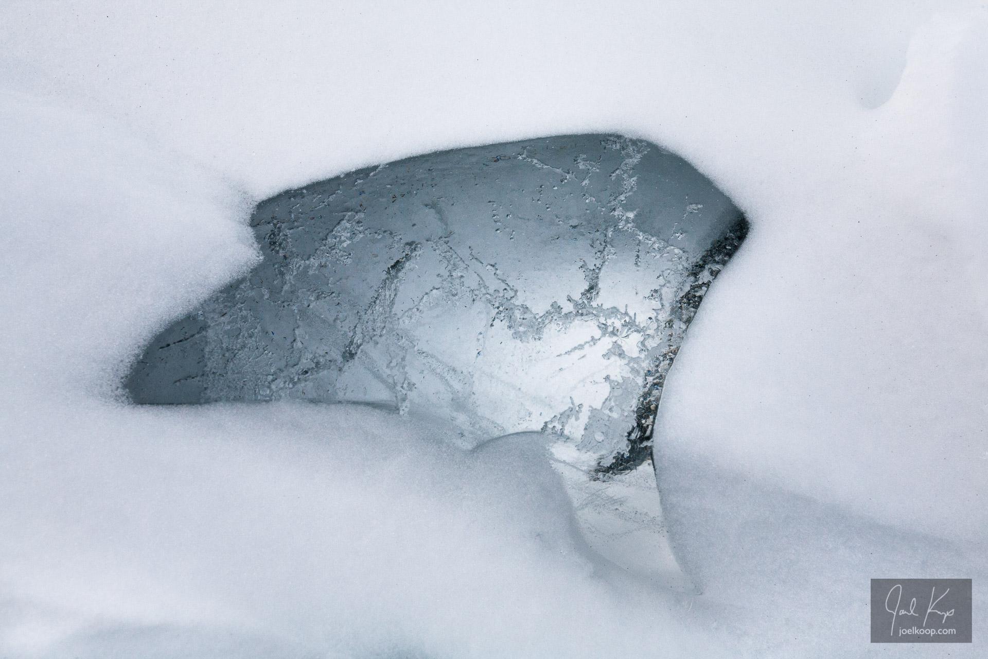 Window through the Snow