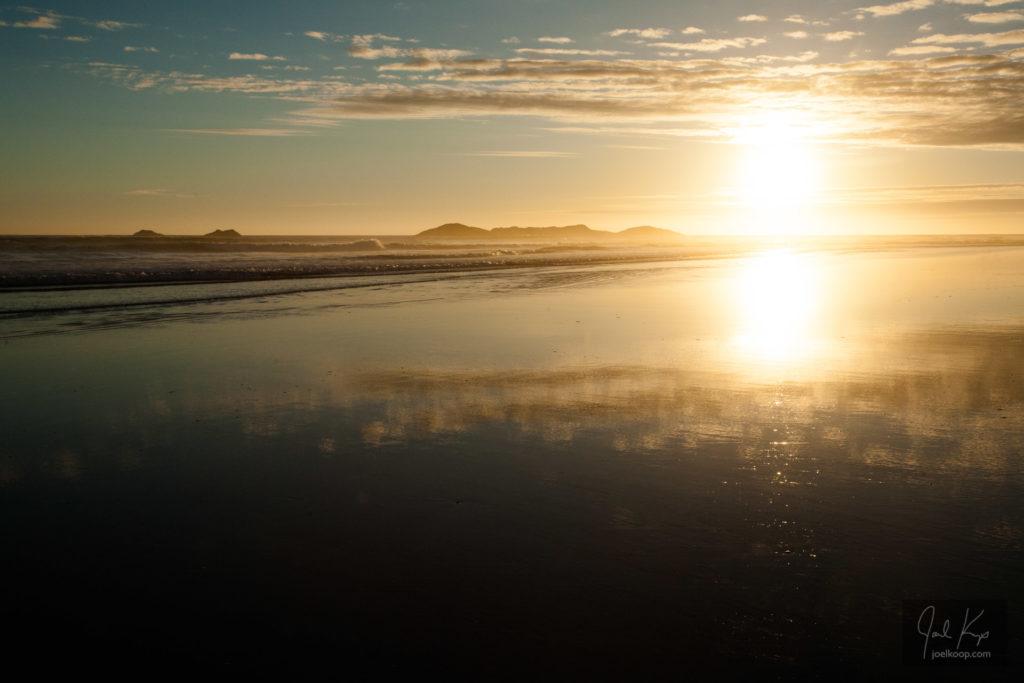 Warm Evening, Endless Beach
